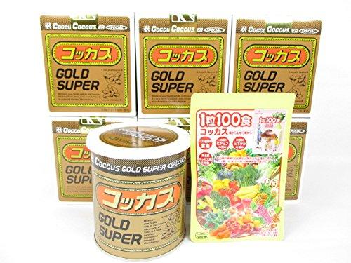 コッカスゴールドスーパー6缶+「1粒100食コッカス」1袋付セット B0155T3EBW
