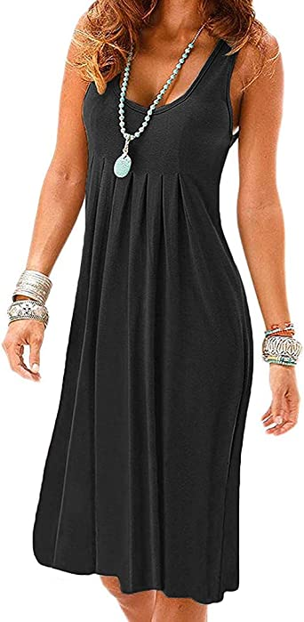 Casual Dress Ladies Dress Urban Clothing Oversized Dress Black Tank Dress Sleeveless Dress Minimalist Dress Summer Dress Sun Dress