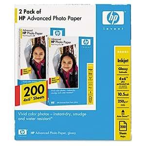 HP Q8744A 4X6.5 ADVANCED PHOTO PAPER GLO