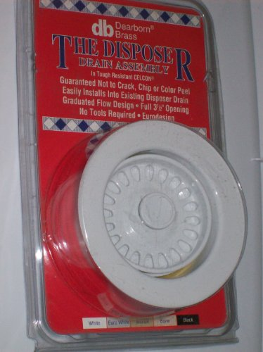 Disposer Flange Assembly, White Color, (White Disposer Flange)