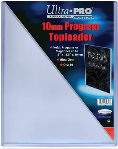 """10 NEW HARD TOP LOADERS 7mm SUPER THICK for MAGAZINES 9/"""" x 11.5/"""""""