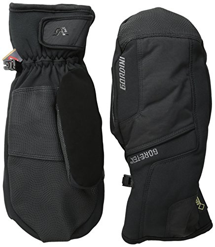 Gordini Men's Men's Challenge XIII Waterproof Insulated Mittens, Black, Large
