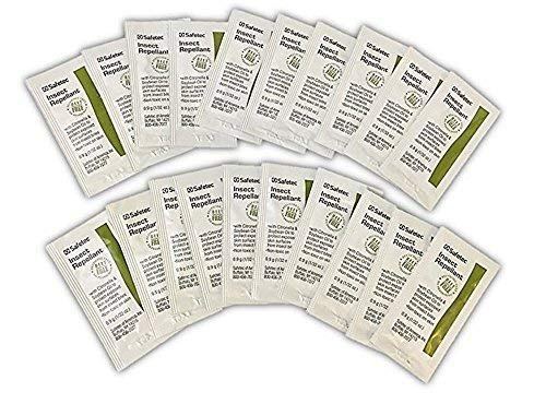 Insect Repellant Packets, Natural DEET-FREE - 100 Packs