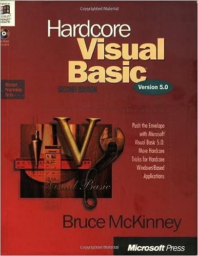 Hardcore Visual Basic: Bruce McKinney: 0790145142221: Amazon com: Books