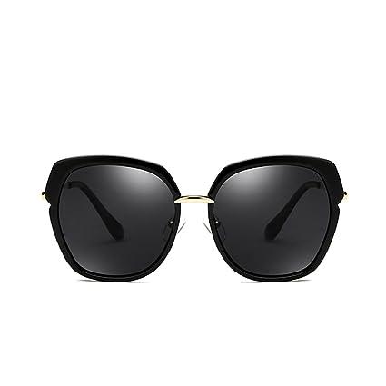 NUBAO Gafas De Sol Polarizadas Mujer Cara Redonda Gafas De Sol De La Calle Cara Larga