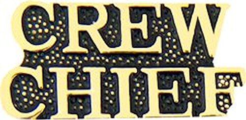 CREW CHIEF Small Pin
