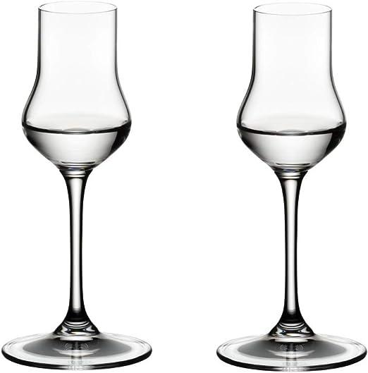 Riedel Vinum Copa de Grappa 18.5x9.2x23.7 cm Cristal, 2 Unidades