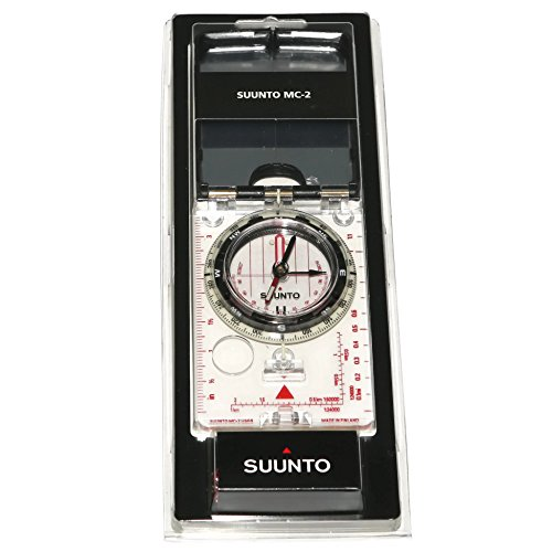 - Suunto – High Grade Steel MC-2 Pro Compass with Mirrored Sighting, Adjustable Declination, and a Clinometer