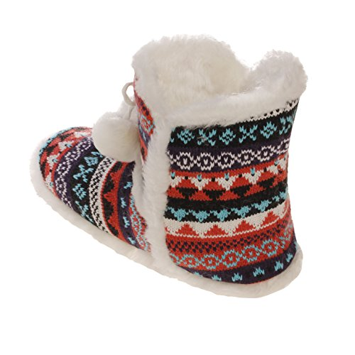 Fur Lounge Boots Black women Pool Emmalise Indoor Orange Front Fur Shoes Women's for Pompom Boots Slipper ZEEIX