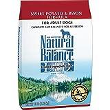 Natural Balance L.I.D. Limited Ingredient Diets Dry Dog Food, Grain Free, Sweet Potato & Bison Formula, 13-Pound