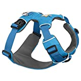 RUFFWEAR - Front Range Harness, Blue Dusk (2017), Medium