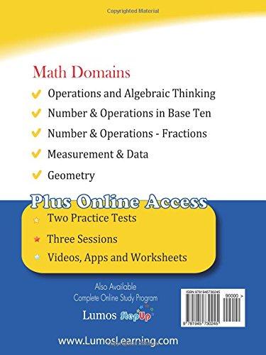 LEAP Test Prep: 3rd Grade Math Practice Workbook and Full-length ...