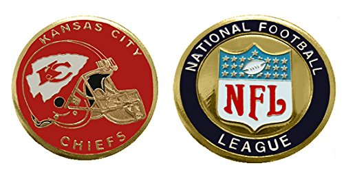 Chiefs Collectible Challenge Coin- Logo Poker - Lucky Chip