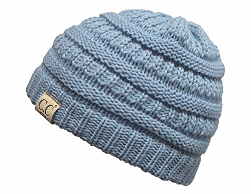 H-3847-73 Funky Junque Kids Beanie (NO POM) - (Angels Stretch Denim)
