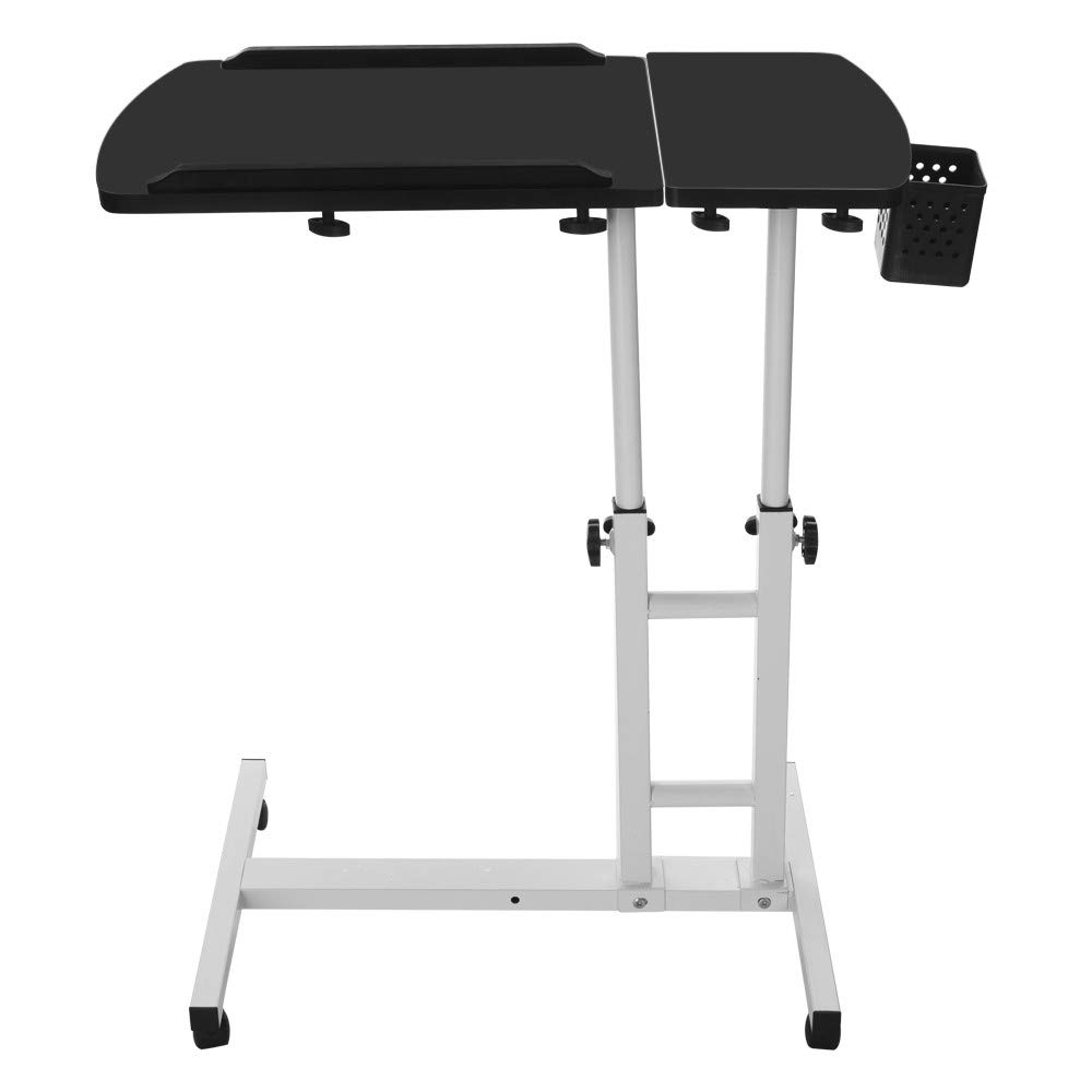 FengGa Computer Desk for Small Space/Writing Desk/Compact Desk/Foldable Desk.Household Can Be Lifted and Folded Folding Mobile Small Working Desks Home Computer (Black, 17.32inch×15.75inch.) by FengGa 3C (Image #6)