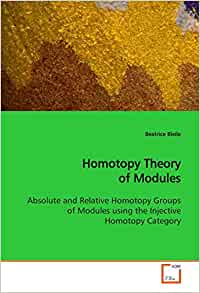 Homotopy Theory Of Modules  Absolute And Relative Homotopy Groups Of Modules Using The Injective