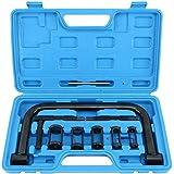 8MILELAKE Valve Spring Compressor C Clamp Tool Kit