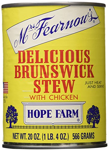 - Mrs Fearnow's Delicious Brunswick Stew with Chicken - 20 oz