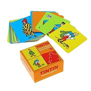 Juego de cartas de memoria Las Parejas Tintín V2 51070 (2016 ...