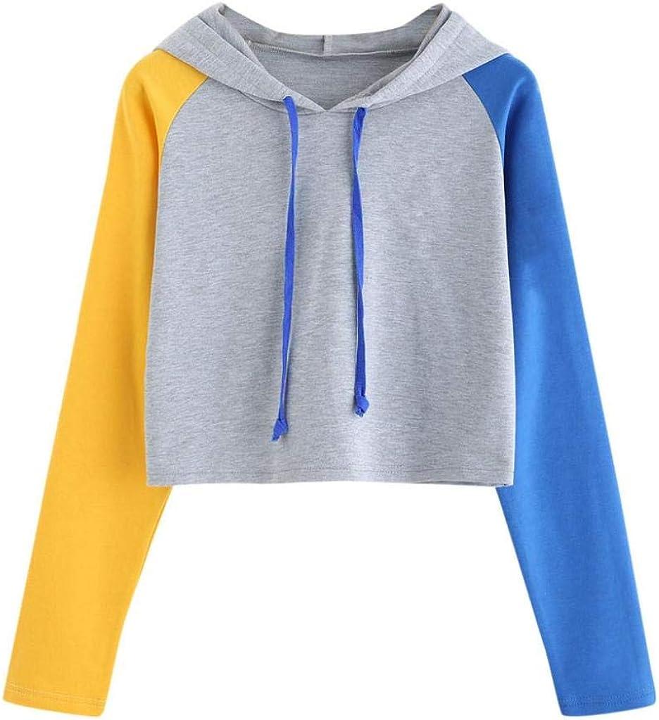 Pullovers Women Slim Fit Sweatshirts Tops Teen O-Neck Hoodies Sportswear Blouse