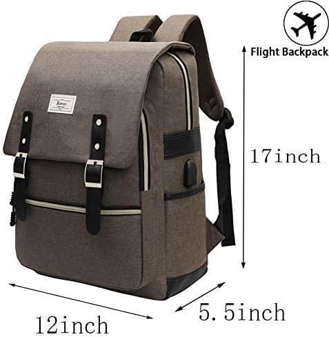 Kabi Kirby Backpack Daypack Rucksack Laptop Shoulder Bag with USB Charging Port