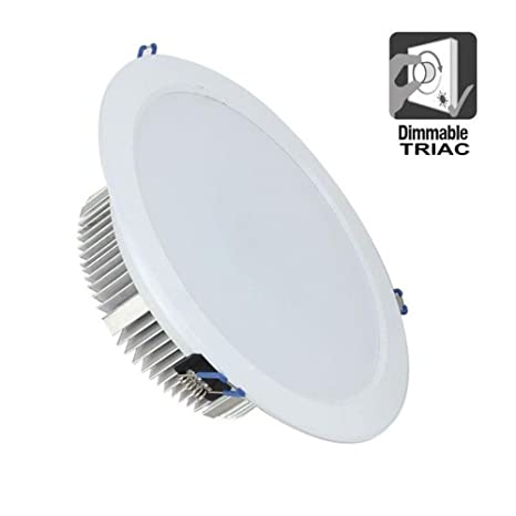 KHEBAG Led Empotrable Downlights lampara de techo Dimmable 50W ,Color Neutra 4000K equivalente a 330W