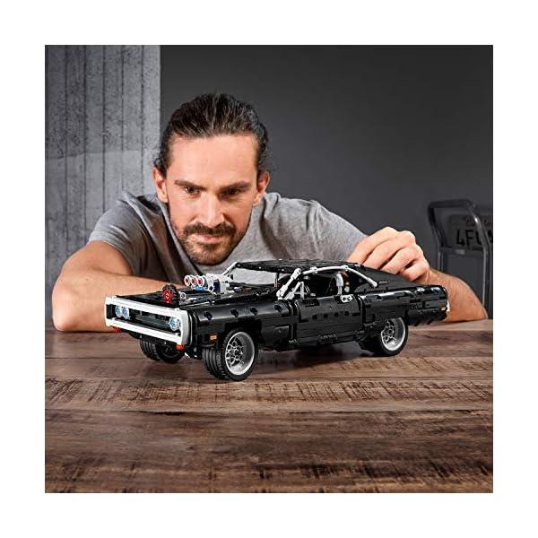 LEGO Technic Dom's Dodge Charger per Ricreare le Scene di Fast and Furious, Avventure ad Alta Velocità, Idea Regalo per… 2 spesavip