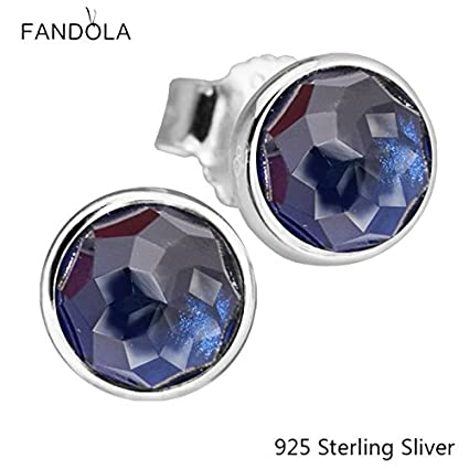 05db31bdeb8e3 Amazon.com: Stud Earrings Compatible With Pandora 925 Sterling ...