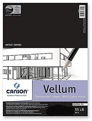 Canson Vidalon Tracing Vellum (24 In. x 36 In.) 3 pcs sku# 1824813MA by Canson
