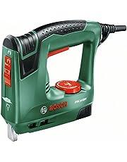 Bosch PTK 14 EDT - Grapadora eléctrica válida para grapas y clavos, 240 W, 240 V