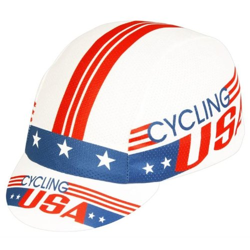 Pace Sportswear Coolmax Cycling Usa Cap by Pace Sportswear (Image #1)