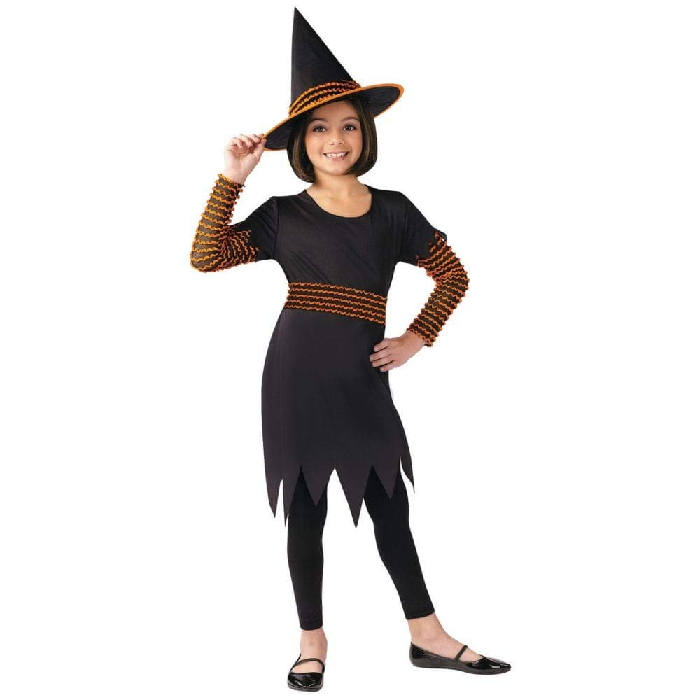 Kost-me f-r alle Gelegenheiten FW110432MD Witch Pumpkin Patch Kind Med