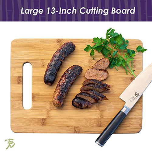 Totally Bamboo 3-Piece Bamboo Serving and Cutting Board Set by Totally Bamboo (Image #2)