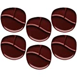 Zak Designs Moso 9-inch Divided Plate, Red, 6 piece set