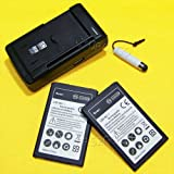 High Power 2400mAh Verizon LG Transpyre VS810PP Battery Universal Hone Charger Cellphone Stylus Mobile Phone
