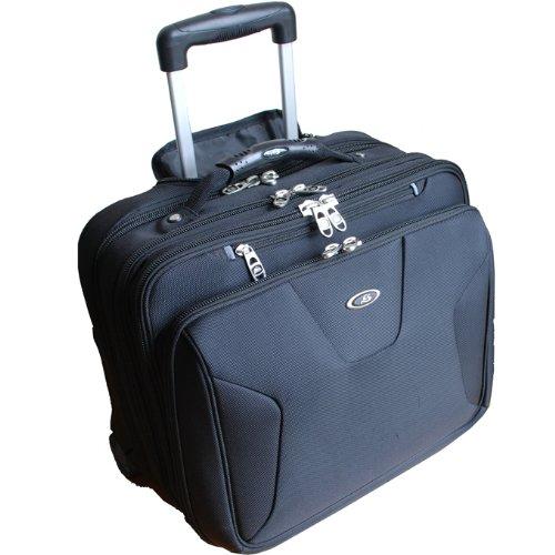 Cox Swain Laptop Business Trolley für Notebooks bis 17 Zoll + Laptop Tasche für Geräte bis 15,4 Zoll