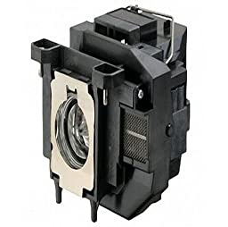 ELPLP67 / V13H010L67 Replacement Lamp for EPSON EB-S02 EB-S11 EB-S12 EB-W12