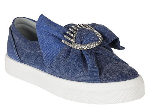 Chiara Ferragni Zapatillas Para Mujer Azul Azul It - Marke Größe