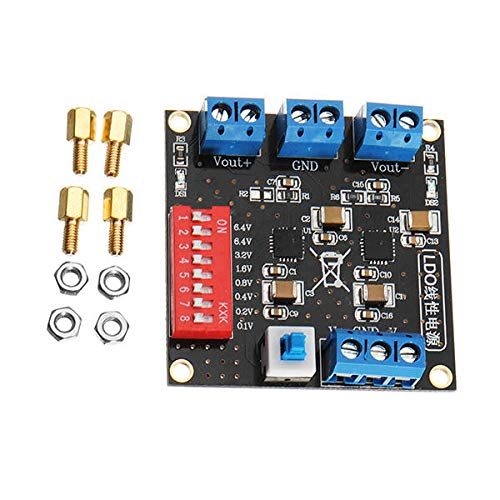 TPS7A4701 TPS7A3301 Ultra Low Ripple Positive and Negative Power Ripple  Linear Power Supply - Arduino Compatible SCM & DIY Kits Module Board-1 x