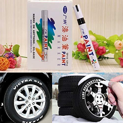 Rotuladores de Pintura para neumáticos de Coche FiedFikt ...
