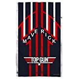 Top Gun 1986 Romantic Military Action Drama Movie Maverick Golf Towel