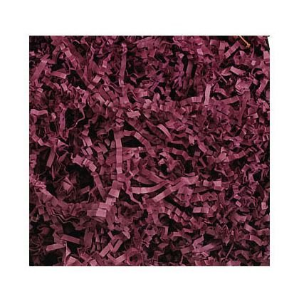 Deluxe Small Business Sales 431-10-34 10 lbs. Crinkle Cut Fill, Burgundy from Miller Supply Inc