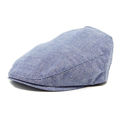 - Born to Love Knuckleheads Flat Driver Cap (XL 56 cm, Denim)