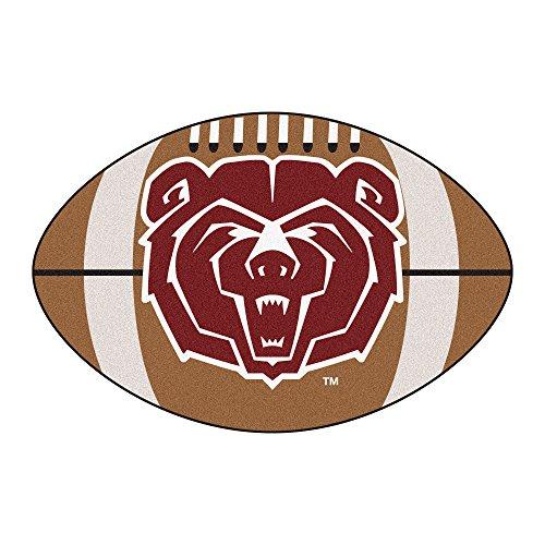 (FANMATS NCAA Missouri State (SW) Bears Nylon Face Football Rug)