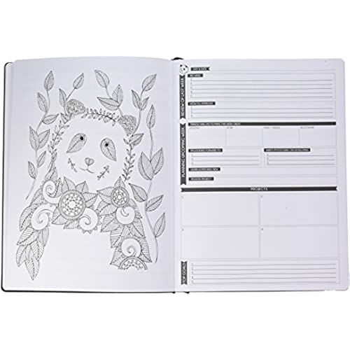 lovely Panda Planner Color - Coloring Book & Weekly Planner for ...