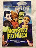 """MONSTER FAMILY - 11""""x17"""" Original Promo Movie Poster 2017 Emily Watson Nick Frost"""