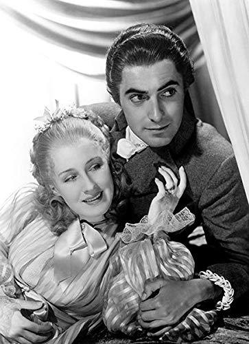 Norma Shearer - Tyrone Power Jr. - Marie Antoinette - Movie Still Poster