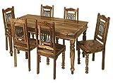 Jali Solid Sheesham Indian Rosewood 1.75M Dining Table / Solid Rosewood Dining Table ONLY / Dining Room Furniture