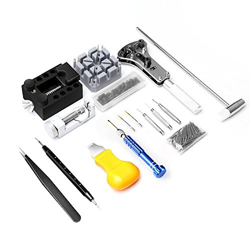 Watch Repair Kit, Eventronic Professional Spring Bar Tool Set Watch Band Link Pin Tool Set with Carrying Case