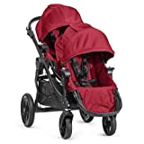 Baby Jogger 2014 City Select Stroller WITH Second Seat (Red) For Sale